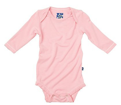 Kicky Pants Long Sleeved One-Piece, Lotus, 6-12 Months front-305433