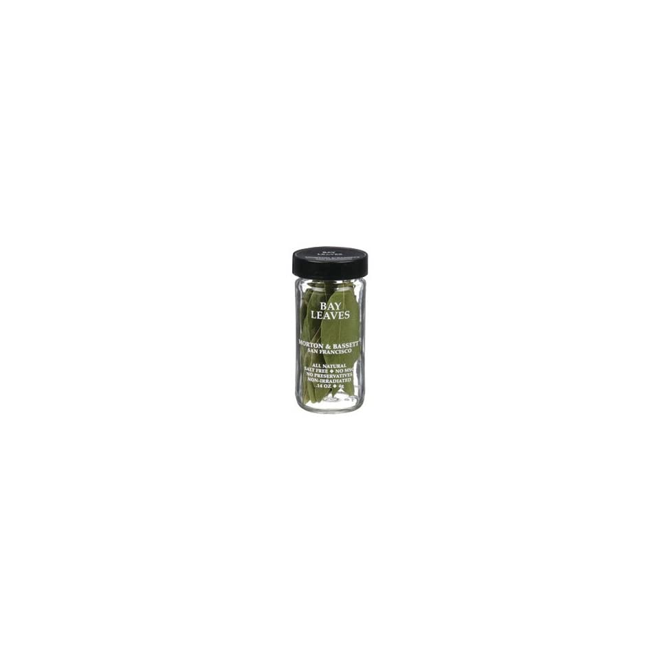 b8b91c8a7006 Morton Bassett Mb Bay Leaves (Economy Case Pack) .14 Oz Jar (Pack of ...