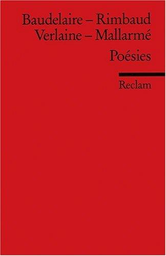Poésies: (Fremdsprachentexte)