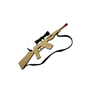 Magnum 12 Gun Line AK-47 Combat Rifle with Scope and Sling - uses Ammo Size 125... by Magnum Enterprises