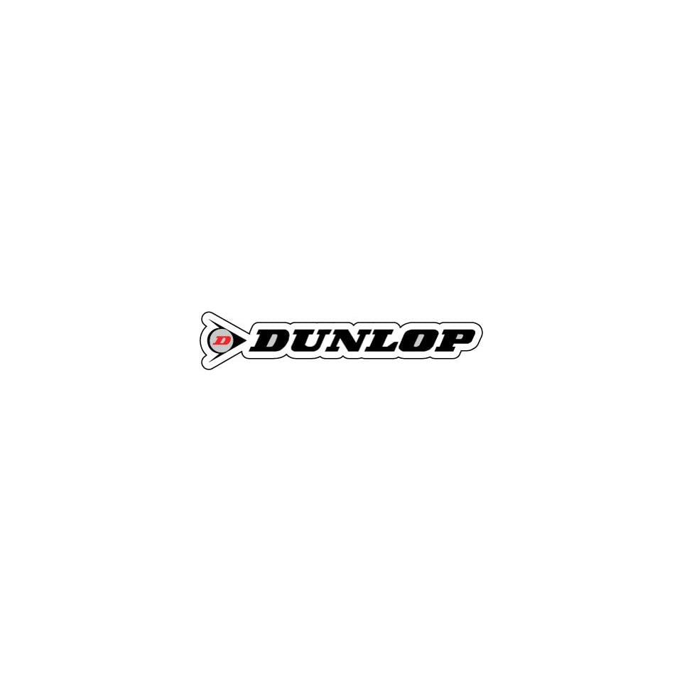 Dunlop Racing Motorcycle Biker Sticker Decal 8 X 1 7 On Popscreen