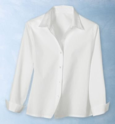 TravelSmith Womens No-Iron Basic-Collar Shirt