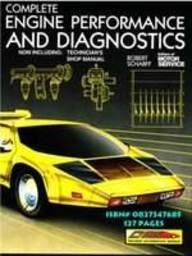 Complete Engine Performance and Diagnostics: Text Manual and Shop Manual Package