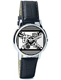 BigOwl Virtual World Analog Men's Wrist Watch 5094054526-RS1-W-BK1