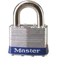 MasterLockProducts Padlock Steel 1In Vrtshkl 1Key, Sold as 1 Each