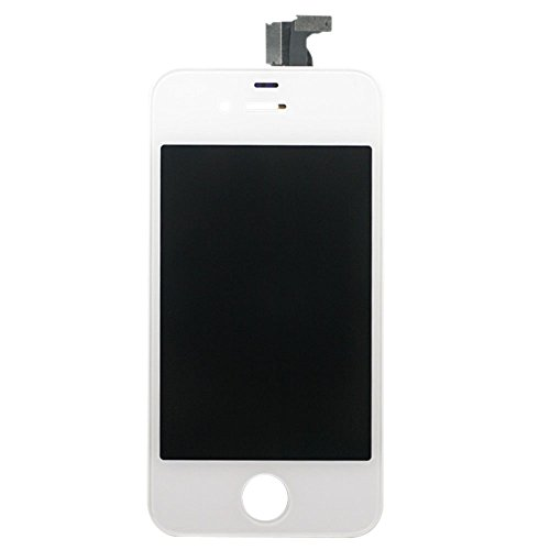 For Apple iPhone 4 4G Touch Screen Digitizer and LCD Assembly - White (AT&T GSM Model) (Iphone 4 Replacement Camera Front compare prices)