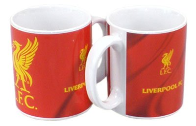 OFFICIAL LIVERPOOL LIVERBIRD LFC CERAMIC CREST MUG