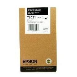Epson T603100 220 ml Photo Black UltraChrome K3 Ink Cartridge