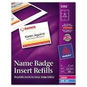 New - Avery Name Badge Insert Refill - F52031 (Avery Name Badge Inserts 5392 compare prices)