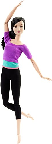 Barbie Made to Move Barbie Doll, Purp…