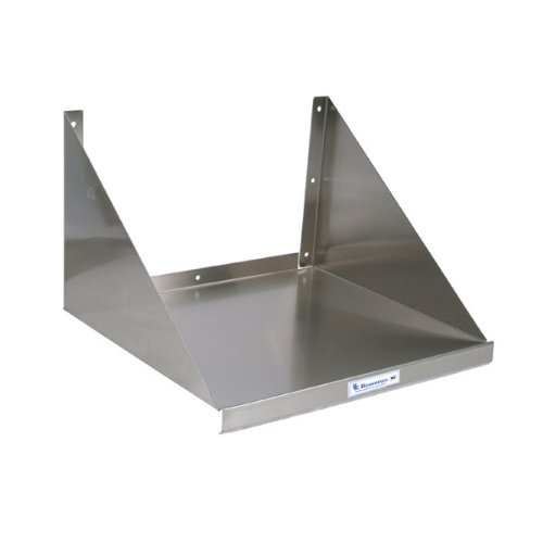 Stainless Steel Kitchen Microwave Wall Shelf: 30