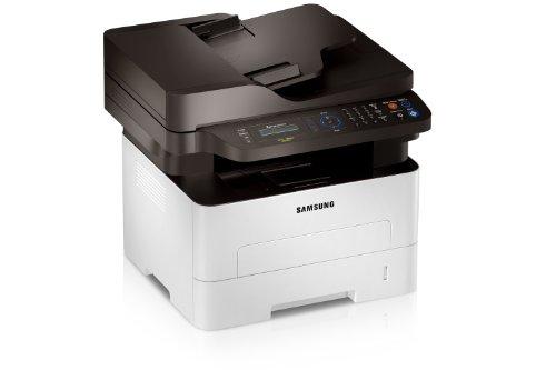 Samsung Xpress M2875FW/XEC Monolaser-Multifunktionsgerät (Drucken, Scannen, Kopieren, Faxen, 4.800 x 600 dpi, 128 Mb Speicher, 600 MHZ Prozessor)