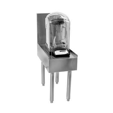"""12"""" Flat Top In-Counter Blender Station - Glastender Ibs-12-V"""