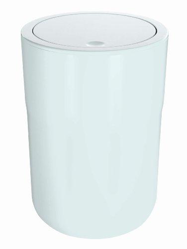 Spirella Abfall-/Kosemetikeimer, Cocco, weiß