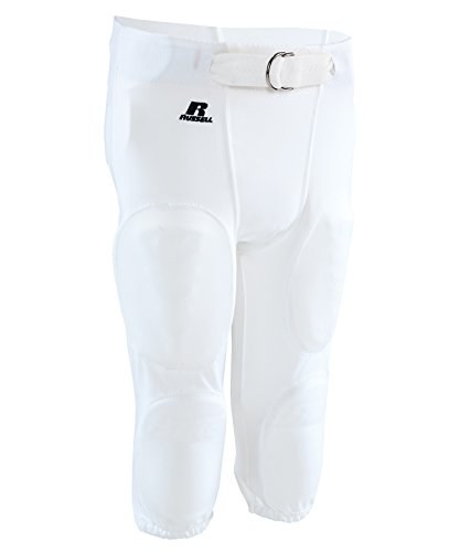 Russell Athletic Men's Practice Pant - WHI - L (Mens Football Pants With Pads compare prices)