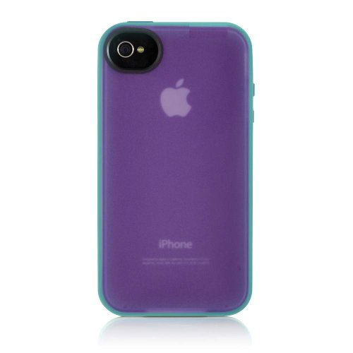 Belkin Essential 050 iPhone 4 Case, Compatible with iPhone 4S (Purple / Blue)