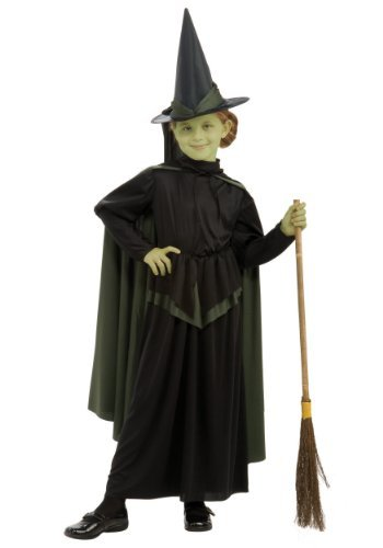 Wicked Witch Child Medium (8-10) Costume (Wicked Witch Of The West Broom)