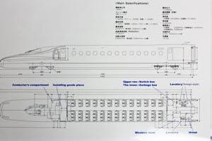 新幹線図面クリアファイル 0系こだま S195