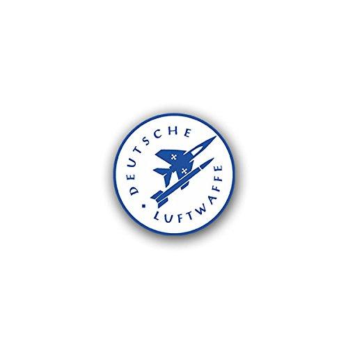 Aufkleber / Sticker - Deutsche Luftwaffe Teilstreitkraft Luftstreitkräfte Berlin-Gatow Soldaten Bundeswehr Wappen Abzeichen Emblem passend für Opel Astra Audi A6 VW Passat (7x7cm)#A1309
