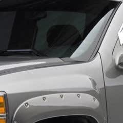"2007-2013 Chevy Silverado Frt & RR ""Bolt on Look"" Fender Flares by GM 19299831"