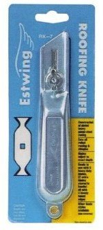 """Estwing Rk-7 7"""" Roofing Knife W/Replaceable Blades"""