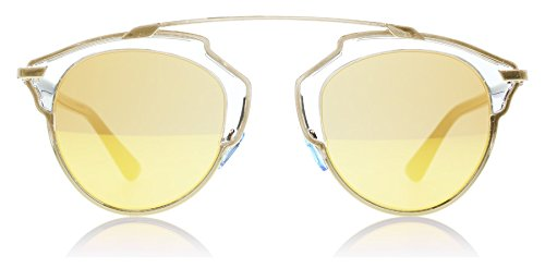 Christian-Dior-So-Real-U5SK1-Gold-Cat-Eye-Sunglass
