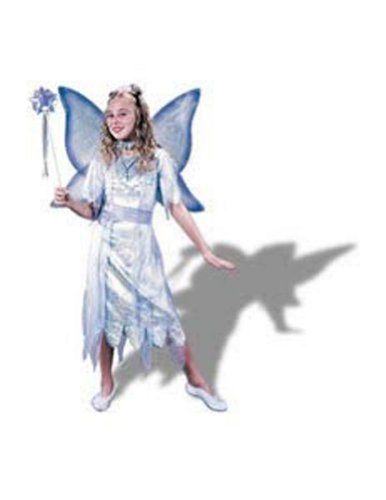 girls - Watercolor Fairy Child Med Halloween Costume - Child Medium
