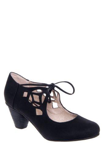Chelsea Crew Vinny Low Heel Cutout Shoe