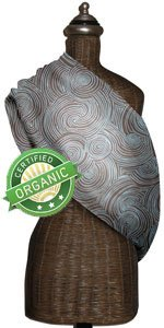 Mamma's Milk ORGANIC Tree Rings INVISIBLY ADJUSTABLE Baby Sling