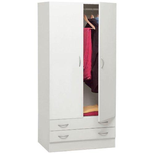 armadio-guardaroba-legno-kit-due-ante-e-due-cassetti-bianco-ar1026-l80h170p52