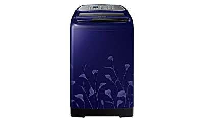 Samsung WA75H4020HL Fully-automatic Top-loading Washing Machine (7.5 Kg, Lily Pattern Blue)