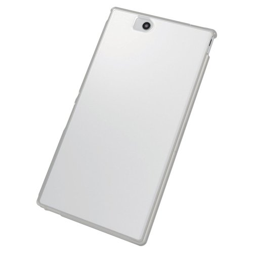ELECOM Xperia Z Ultra SOL24 SGP412JP ソフトケース クリスタルクリア 保護フィルム付 PA-SOL24UCTCR
