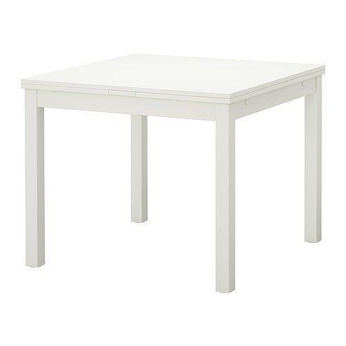 IKEA-BJURSTA-Ausziehtisch-in-wei-90129168x90cm