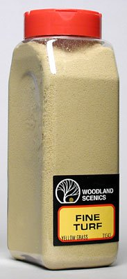 Yellow Grass Fine Turf (32 oz. Shaker) Woodland Scenics