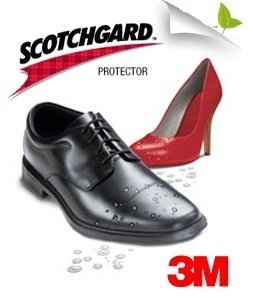 3 pack scotchgard leather shoe shine and protector