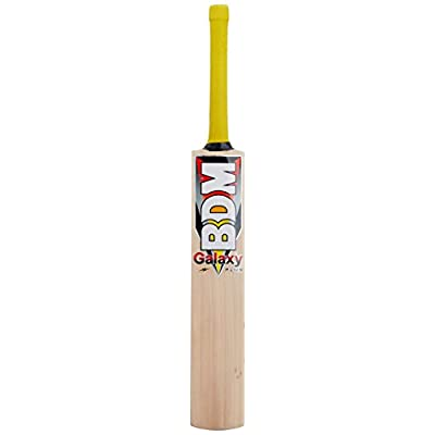 BDM Galaxy Plus English Willow Cricket Bat, Short Handle