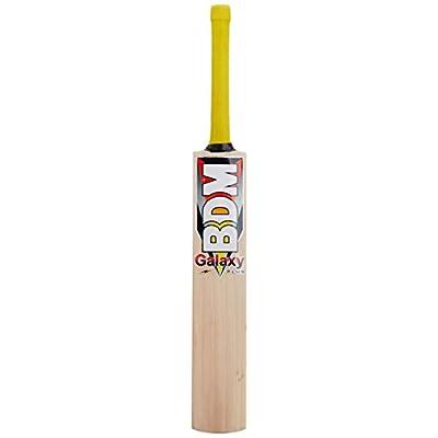 BDM Galaxy Plus English Willow Cricket Bat, Short Handle