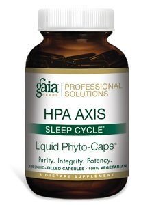 Gaia Herbs (Professional Solutions) - HPA Axis Sleep Cycle 120 liquid caps (The Sleep Cycle compare prices)