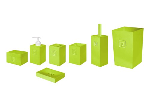 Bisk 04445 Meander Bin and Accessory Set, Green