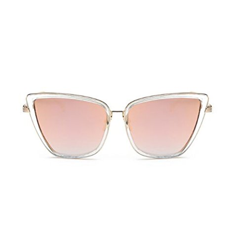 GAMT -  Occhiali da sole  - Donna Oro Transparent Rose Gold