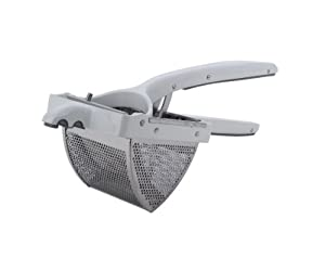 MIU France Cast Aluminum and Stainless Steel Potato Ricer and Food Press, Large by MIU France