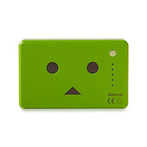 cheero Power Plus 10400mAh DANBOARD Version - FLAVORS - (matcha) 大容量 モバイルバッテリー [ 高品質Sanyo/Panasonic電池搭載 ]  iPhone 6 6Plus 5s 5c 5 / iPad / Android / Xperia / Galaxy / 各種スマホ / タブレット / ゲーム機 / Wi-Fiルータ 等 急速充電 対応
