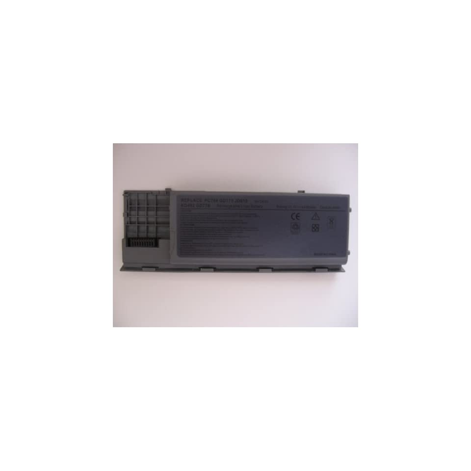 Replacement 6 Cell 11.1v 4400mah Battery Pack for Dell Latitude Laptop Computer Part Number 0tc030 0td116 0td117 0td175 0tg226 0ud088 0ug260