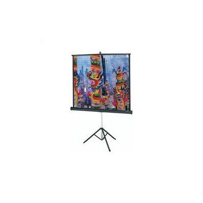 Dalite Versatol With Keystone Eliminator Square Format 70 X 70 Inch Silver Matte Projection Screen