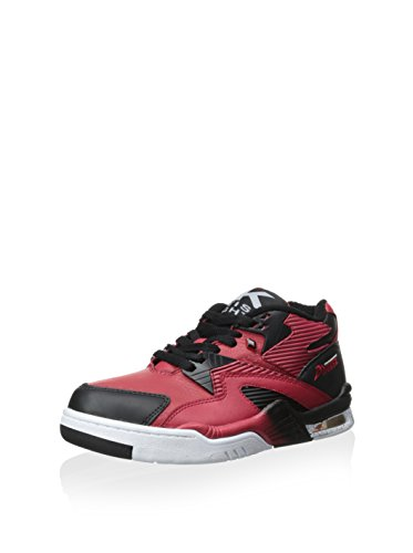 British Knights: Control Mid Mars Red Black White Sneaker (9)