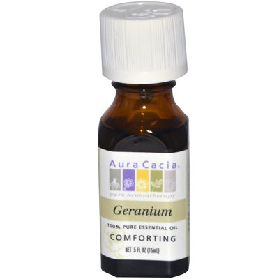 Aura Cacia - Aura Cacia Pure Essential Oil Geranium - 0.5 Fl Oz - Pack Of 1