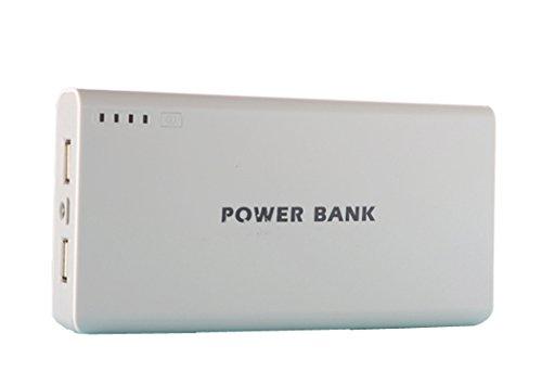 Generisches 50000mAh External Power Bank Backup-Dual-USB-Ladegerät für iPad, iPad 2/3, iPhone 5, iPhone 4, iPhone 4S, iPod, Blackberry, HTC, Android, Samsung (Grau)