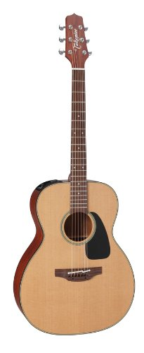 Takamine Pro Series 1 P1M Om Body Acoustic Electric Guitar With Case, Natural