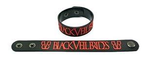 Black Veil Brides Rubber Wristband Bracelet