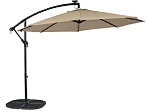 Living Accents Umscs10e04obd Round Patio Umbrella, 10', Steel Frame from Living Accents